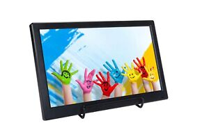 """US Stk 12"""" Portable Small HDMI LCD Monitor for Laptop/TV,Build in speaker,Remote"""