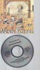 CD--ALEXIS KORNER--THE LOST ALBUM--RAR