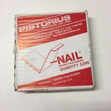 "5000 pc V-Nails V-Nail 1/4"" for Hard Wood Type Pistorius"