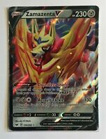 Pokemon TCG Card - Zamazenta V 139/202 - Ultra Rare Holo - Mint NM