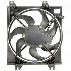 A/C Condenser Fan Assembly 4 Seasons 75391 fits 00-06 Hyundai Accent