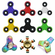 Fidget Finger Spinner Hand Focus Ultimate Spin EDC Bearing Focus Stress Toys UK