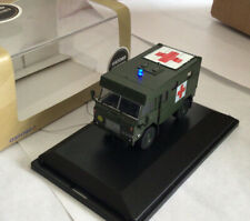 OXFORD DIECAST 1:76 OO LAND ROVER  AMBULANCE With Flashing Light Lot 11
