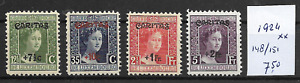 LUXEMBOURG @ 1924  Mi. 148-51  MNH - Nice Priced @ Lux.98