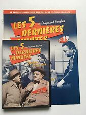 LES 5 DERNIERES MINUTES .. DVD N°19 + FASCICULE ... RAYMOND SOUPLEX