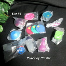 Tupperware New 10 Piece Collectible Miniature Keychains & Magnets Lot #1