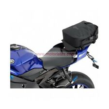 Bolsa trasera impermeable para motos enduro y motos trail color negro