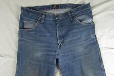 Wrangler 47MWZ Faded Denim Jeans Tag 35x36 Measure 36x33 Cowboy