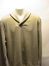 NEW Mens Tasso Elba Mocha Spa Winter Knit Sweater Size XL NWT