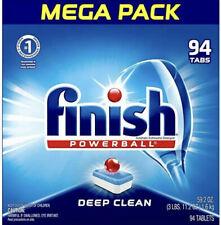 Finish Powerball Mega Pack 94 Tabs Deep Clean New