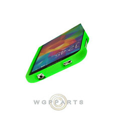 Samsung Galaxy S5 Shield Rubberized Lime Green Cover Shield Shell