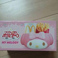 My Melody McDonalds Chips & Drink Holder Sanrio Kawaii Japan Limited