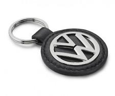 ORIGINAL VW Porte clés en cuir VOLKSWAGEN Logo NEUF