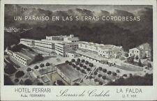 ARGENTINA CORDOBA LA FALDA HOTEL FERRARI AVDA. FERRARINI