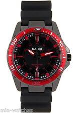 Casio MTD1072-4A Mens 100M Diver Anti-Reverse Red Sports Watch Steel Case New