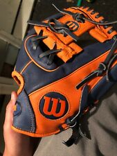 wilson a450 Youth Right Hand baseball glove (throw Left)