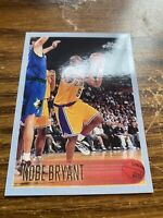 1996-97 Topps Chrome #138 Kobe Bryant Rookie REPRINT 🔥 NMMT RP Lakers Mamba HOF