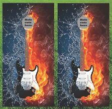 Guitar Cornhole Wrap Set - Fast Shipping!!
