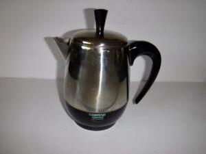 Vintage Farberware Superfast Coffee Pot Electric Percolator Model FCP 240
