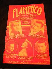 Partition Flamenco Jacques Hélian Mestral Marie josé Music Sheet