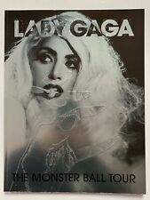 **LADY GAGA MONSTER BALL TOUR BOOK / PROGRAMME & TICKETS EXCELLENT CONDITION**