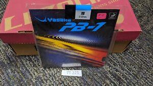 NEW Yasaka PB-1 Table Tennis Black 2.0mm Rubber/Sponge FREE SHIPPING