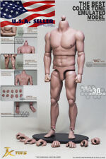 "1/6 Scale Emulated Male Strong Muscular Body JXToys S02 12"" Figure ❶USA❶"