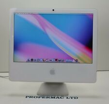 "Apple iMac 20"" OSX 10.6 Snow Leopard  Wi-Fi 4.1 2GHZ 250HDD 2GB RAM (11)"