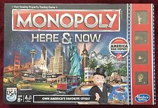 Hasbro Monopoly Here & Now New and Sealed Board Game 2015 XLNT Year-Round Gift