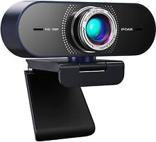 Streaming Webcam Camera + Microphone Desktop - HD 1080P 110° Wide Angle View NEW