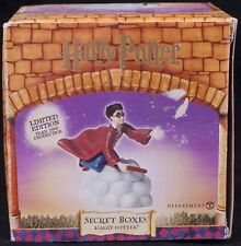 Harry Potter Secret Boxes Dept 56 Limited Edition 2000 Quidditch Snitch Charm