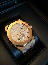 Audemars Piguet ROYAL OAK DUAL TIME 18K Pink Gold 39m Watch 26120OR.OO.D088CR.01
