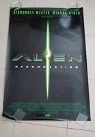 Alien Resurrection movie poster  -  Sigourney Weaver, Winona Ryder (1shB)