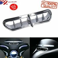 Front Fairings Vent Bezel Accent For Harley Davidson Touring 2014-2016