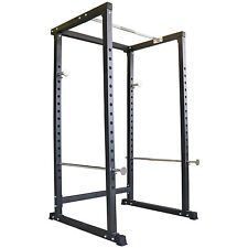 TrainHard Power Rack Kraftstation Hantel Käfig Squat Multipresse Fitnessstation!