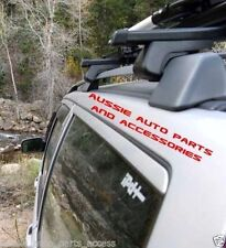 Roof Rack Cross Bars SUZUKI Grand Vitara 2dr Wagon w/- Roof Rails 05/99 to 08/05