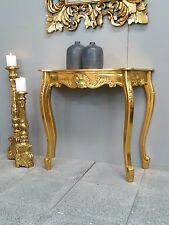 French Provincial Sideboard Table Dresser Bathroom Antique Carved Gold