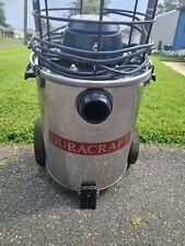 Duracraft Shop Vac Vacuum Model 80068 Very Rare Vintage Stainless Steel Working