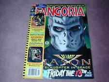 FANGORIA # 212, Jason X, Friday the 13th, Feardotcom, Uzumaki, Free Shipping USA