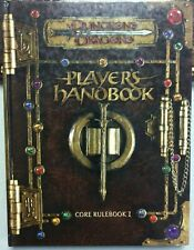 WOTC Dungeons and Dragons - 3RD EDITION PLAYERS HANDBOOK - 2000   (VG+)