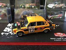 Seat 124D S 1800 - Rally Monte Carlo 1977  -. Zanini