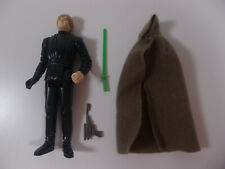 Vintage Star Wars 1983 Luke Skywalker Jedi Outfit Complete w/ Green Lightsaber