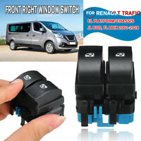 ELECTRIC POWER FRONT RIGHT WINDOW SWITCH FOR RENAULT TRAFIC 2 II MASTER 3 III