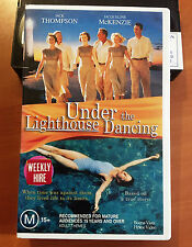 UNDER THE LIGHTHOUSE DANCING - JACK THOMPSON & JAQUELINE McKENZIE - VHS