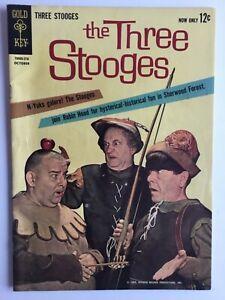 The Three Stooges #10 (1962) 1st Gold Key Comics HI GRADE 7.5 VF-