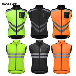 Fahrrad Windweste Fahrrad Herren ärmellos Jacke Reflektierende Trikot Gilet Vest
