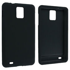 Black Snap-On Hard Case Cover for Samsung Infuse 4G i997