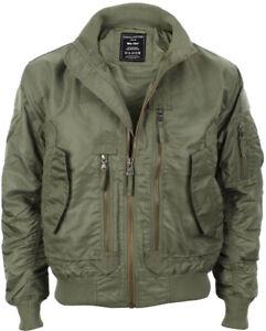 US Tactical Flight Jacket - Olive Drab - Men's Coat American Military All Sizes