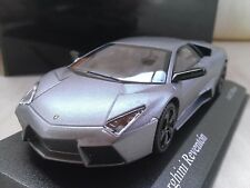 2007 Lamborghini Reventon Matt Grey Diecast Model Car 1/43 Minichamps