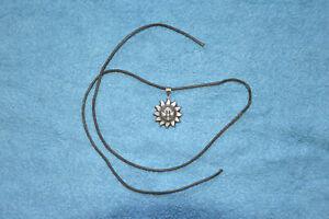 Schmuckanhänger Sonne Silber 925, Anhänger, sehr hübsch, Durchmesser ca.28 mm